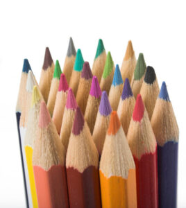 color pencil tips